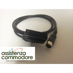 Cavo A/V SCART C64, C16, Vic20